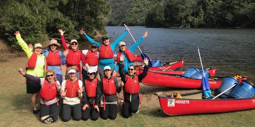 Women's Overnight Canoe Trip: Shoalhaven Gorge // 2nd-3rd May 2020
