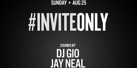 InviteOnly - Sunday Night - Valencia Room tickets