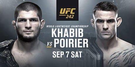 UFC 242 - Khabib vs. Poirier tickets