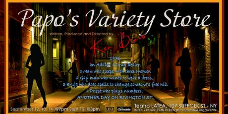 """Papo's Variety Store"" The Salsapera tickets"