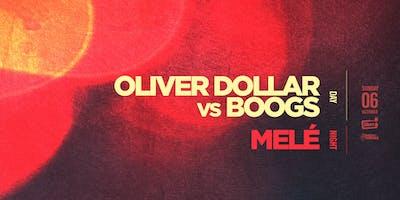 Revolver Sundays pres Oliver Dollar vs Boogs + Melé