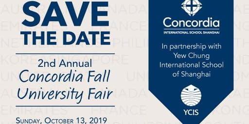 2nd Annual Concordia International School Fall Fair