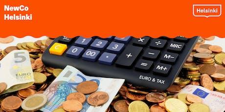 Pienyrityksen talouden hallinta alkaville yrittäjille tickets