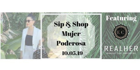 Sip And Shop Mujer Poderosa tickets