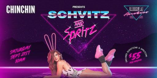 Chin Chin and Retrosweat present Schvitz and Spritz