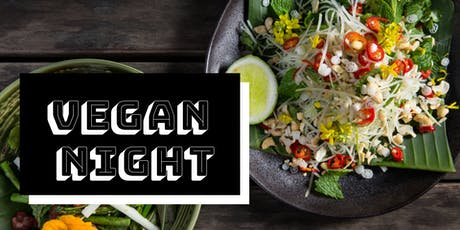 Vegan Night at Jardin Tan tickets
