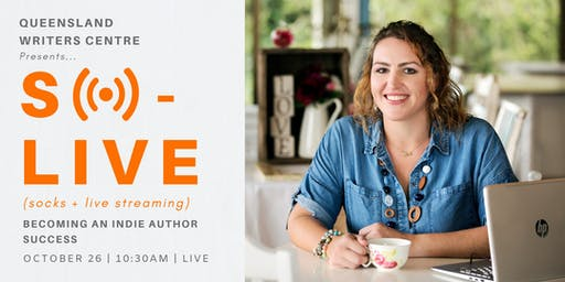 LIVE STREAM: Becoming An Indie Author Success with Sarah Williams