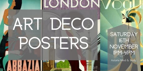 Art Deco Posters tickets