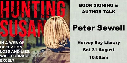 Peter Sewell - Author Talk & Book Signing - Hervey Bay