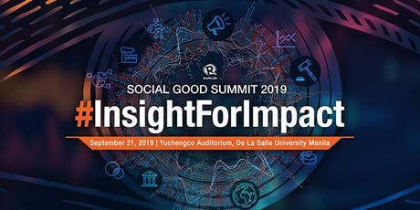 Social Good Summit #2030Now: Insight for impact tickets