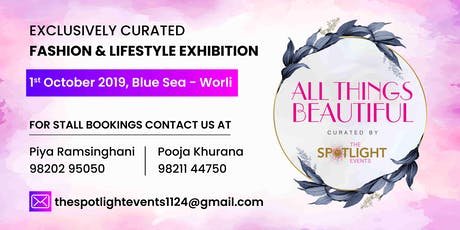 All things Beautiful by The Spotlight Event tickets