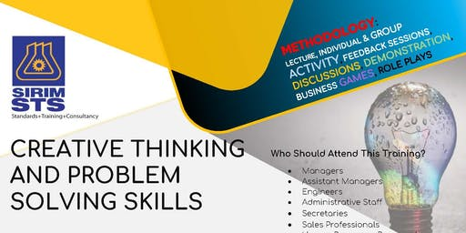 CREATIVE THINKING  AND PROBLEM  SOLVING SKILLS