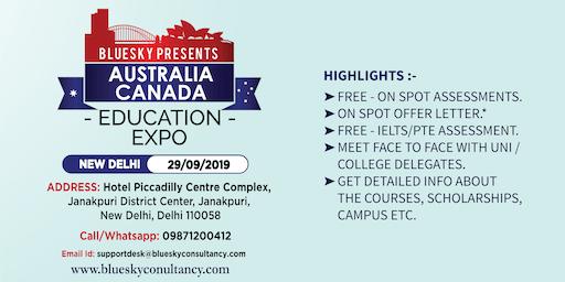 Australia and Canada Education Expo