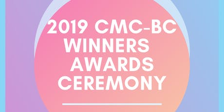2019 CMC-BC Winners Awards Ceremony tickets