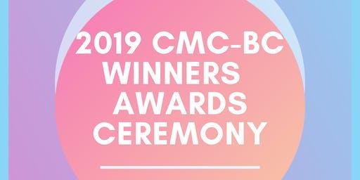 2019 CMC-BC Winners Awards Ceremony