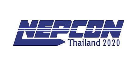 NEPCON Thailand 2020 tickets