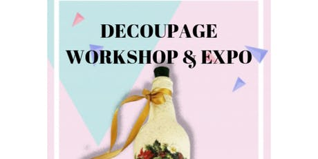 Decoupage Workshop And Expo  tickets
