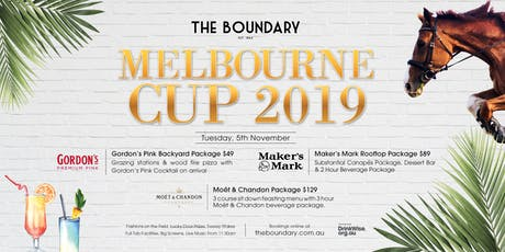 Melbourne Cup - Boundary Hotel, West End tickets