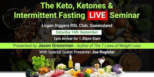 Keto, Ketones & Intermittent Fasting. FREE LIVE Seminar!