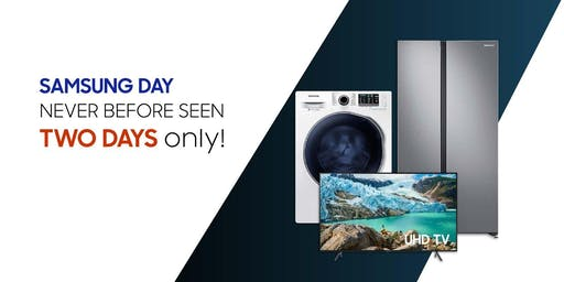 [1ST EVER SAMSUNG DAY] Get $300 OFF Samsung Brand-new Appliances with Trade-in of Any Old Device or Appliance!
