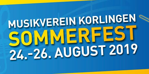 Sommerfest Musikverein Korlingen