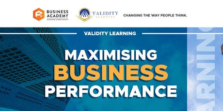 MAXIMIZING BUSINESS PERFORMANCE (KK) tickets