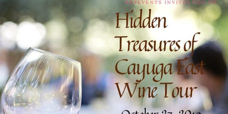 Hidden Treasures of Cayuga East Wine Tour tickets