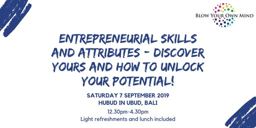 Unlock your potential by assessing your skills and attributes! *Ubud, Bali*
