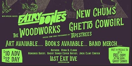 Fairy Bones + Ghetto Cowgirl + The Woodworks + New Chums + Tapestrees