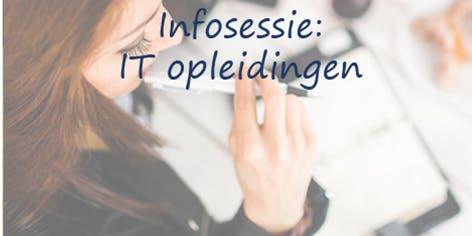 Infosessie gratis IT opleidingen INTEC BRUSSEL