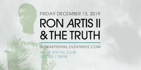 Ron Artis II & The Truth in Honolulu tickets