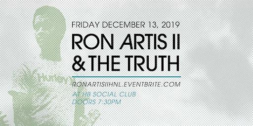 Ron Artis II & The Truth in Honolulu