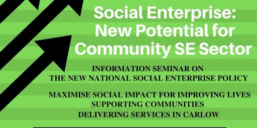 Social Enterprise: New Potential for Community SE Sector