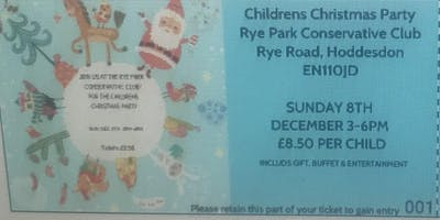 Rye Park *** Club Children's Christmas Party