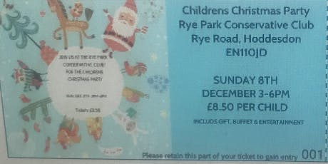 Rye Park Con Club Children's Christmas Party  tickets