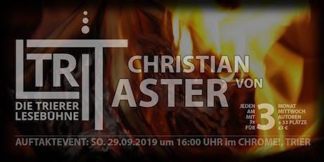 TriLit - Christian von Aster Tickets