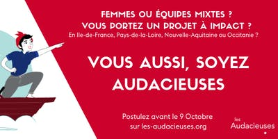 Les Audacieuses : petit déjeuner d'information à La Ruche Paris