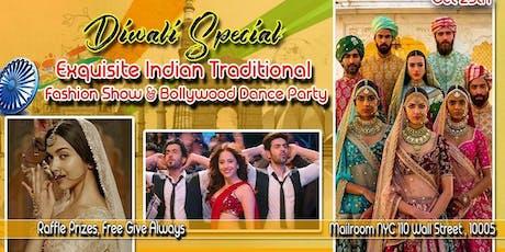 The Grand Diwali Extravaganza - The Folk Flared- Exquisite Fashion Show | Bollywood Party | Masti & Mazaa tickets