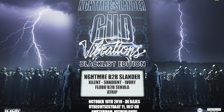 NGHTMRE & Slander Present: Gud Vibrations ADE-Blacklist Edition tickets