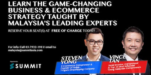 Secrets Of E-Commerce Business Event 2019 Live In Penang
