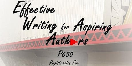 Effective Writing for Aspiring Authors tickets