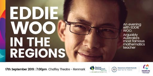 An Evening with Eddie Woo in the regions - Renmark