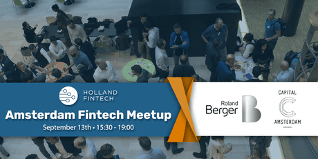 Holland FinTech Amsterdam MeetUp: September tickets