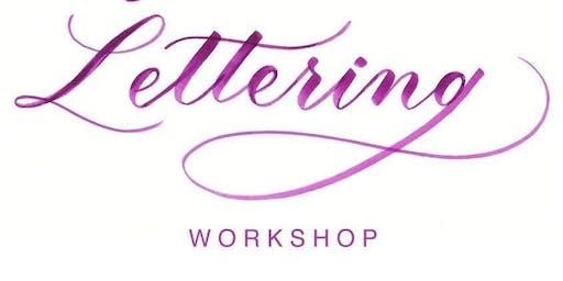 Brush Lettering Calligraphy Workshop