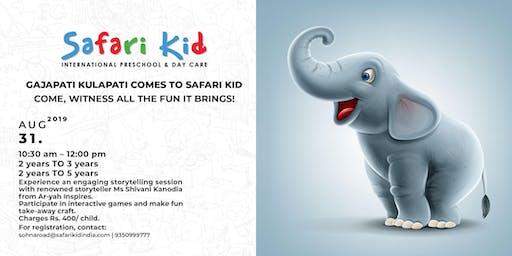 Storytelling Session with Shivani Kanodia- Safari Kid Sector 47