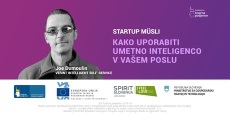 Start:up Müsli: Kako uporabiti umetno inteligenco v vašem poslu tickets