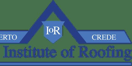 IoR North London Regional Meeting
