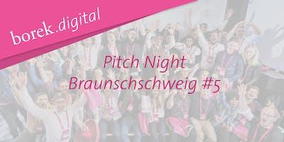 Pitch Night #5 in Braunschweig - borek.digital