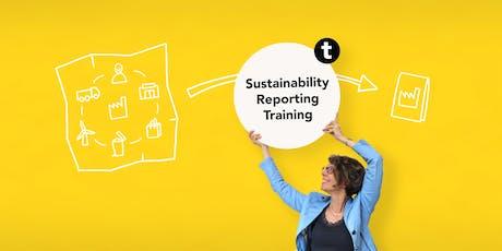 Training MVO verslag: bouw je eigen stappenplan in één middag! tickets