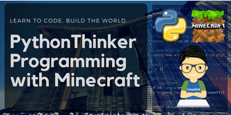 PSLE Marking Holiday Class - PythonThinker+Minecraft Beginner Coding for Kids tickets